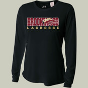 Brookwood - NW3002 A4 Ladies' Long Sleeve Cooling Performance Crew Shirt