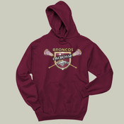 Shield - 996 Jerzees Adult 8oz. 50/50 Pullover Hooded Sweatshirt