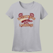 DistressedLogo - L3930R Fruit of Loom Ladies' 5oz. 100% Heavy Cotton HD T-Shirt