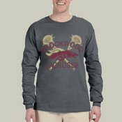 DistressedLogo -  4930 Fruit of the Loom Adult 5oz. 100% Heavy Cotton HD™ Long-Sleeve T-Shirt