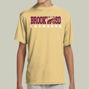 Brookwood - NB3142 A4 Youth Shorts Sleeve Cooling Performance Crew Shirt