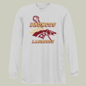 Broncos - NB3165 A4 Youth Long Sleeve Cooling Performance Crew Shirt