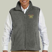 Logo - M985 Harriton Fleece Vest