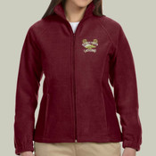 Logo - M990W Harriton Ladies' 8oz. Full-Zip Fleece