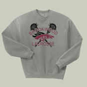 DistressedLogo - 562B Jerzees Youth 8oz. NuBlend® 50/50 Fleece Crew