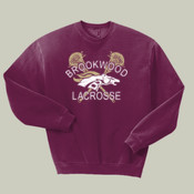 DistressedLogo - 562 Jerzees Adult 8oz. NuBlend® 50/50 Fleece Crew